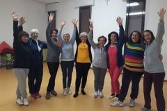 Yoga della risata - foto di gruppo